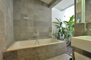 Two bedroom apartment outdoor bath