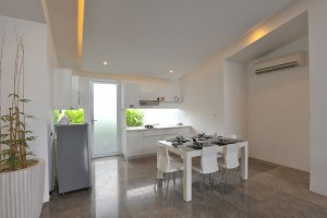 Two bedroom apartment dining