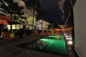 Pool's Lighting Effects Green